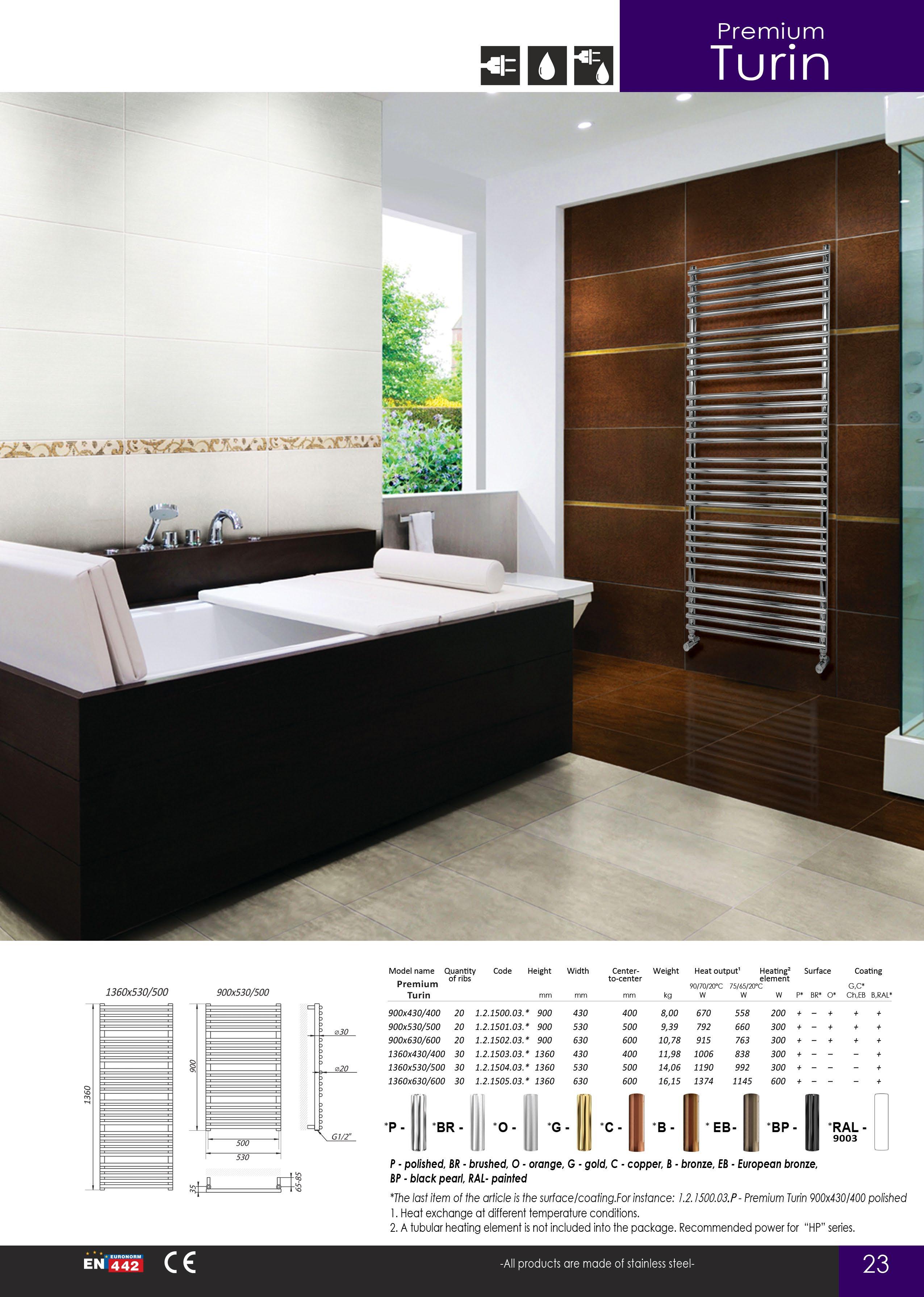 catalog pagina 25 calorifere din inox portprosoape baie. Black Bedroom Furniture Sets. Home Design Ideas